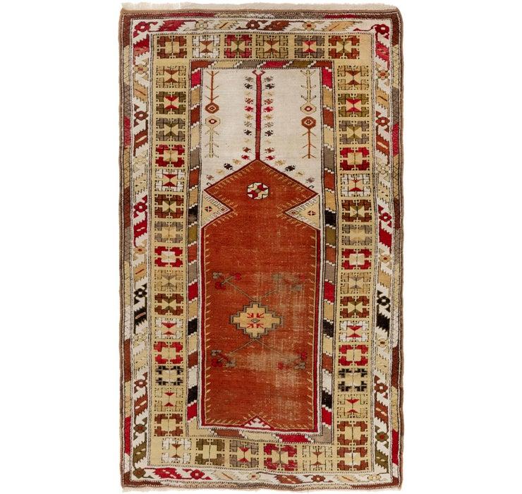 4' x 7' Kars Oriental Rug