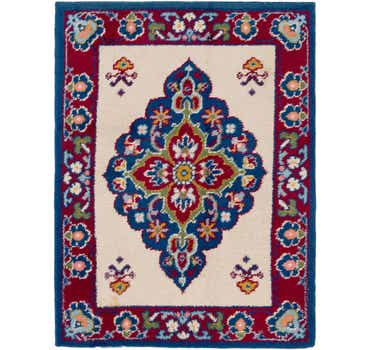 Image of  5' x 6' 7 Moroccan Rug