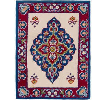 Image of 5' x 6' 7 Moroccan Rug