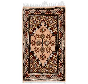 Image of 2' 2 x 3' 10 Moroccan Rug
