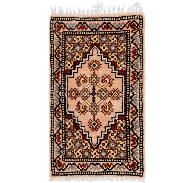 2' 2 x 3' 10 Moroccan Rug