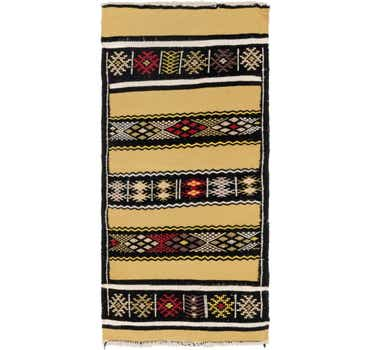 Image of 2' 3 x 5' Moroccan Runner Rug