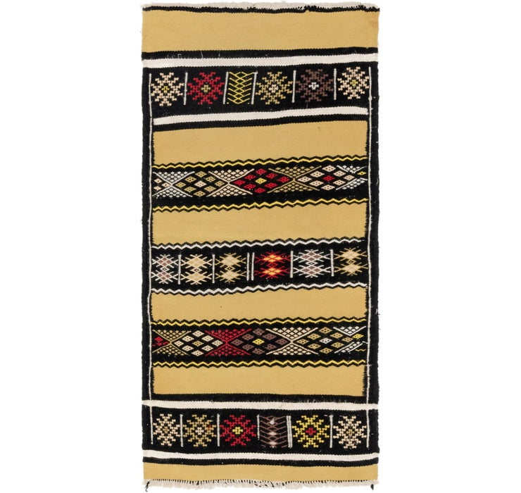 Image of  2' 3 x 5' Moroccan Runner Rug