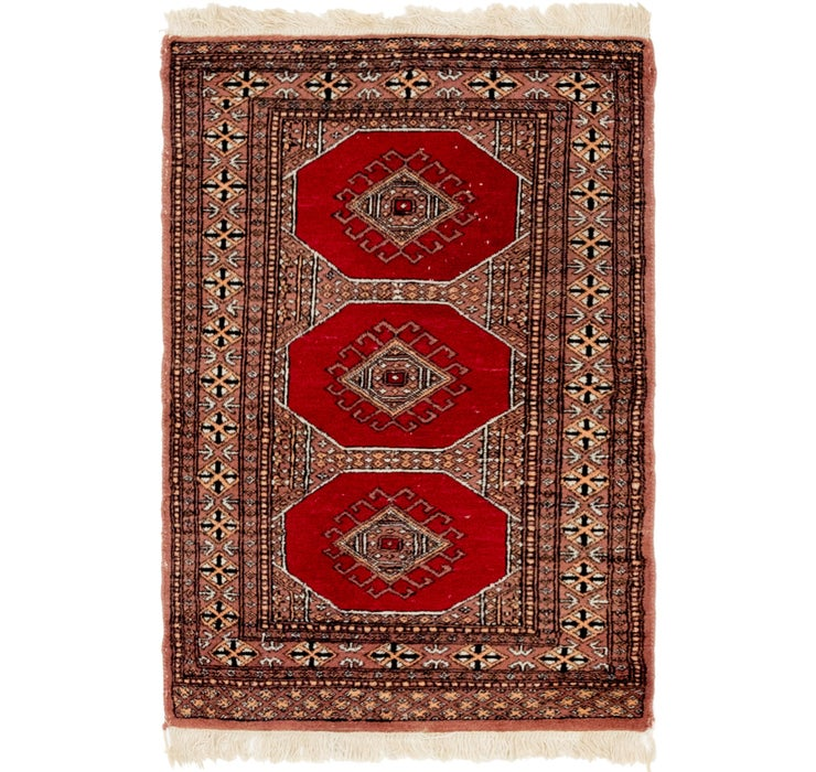 2' 7 x 4' Bokhara Oriental Rug