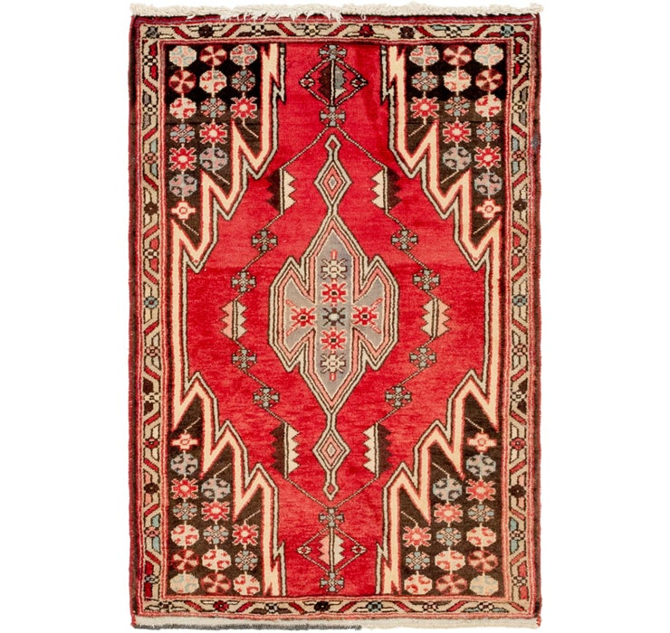 85cm x 122cm Mazlaghan Persian Rug