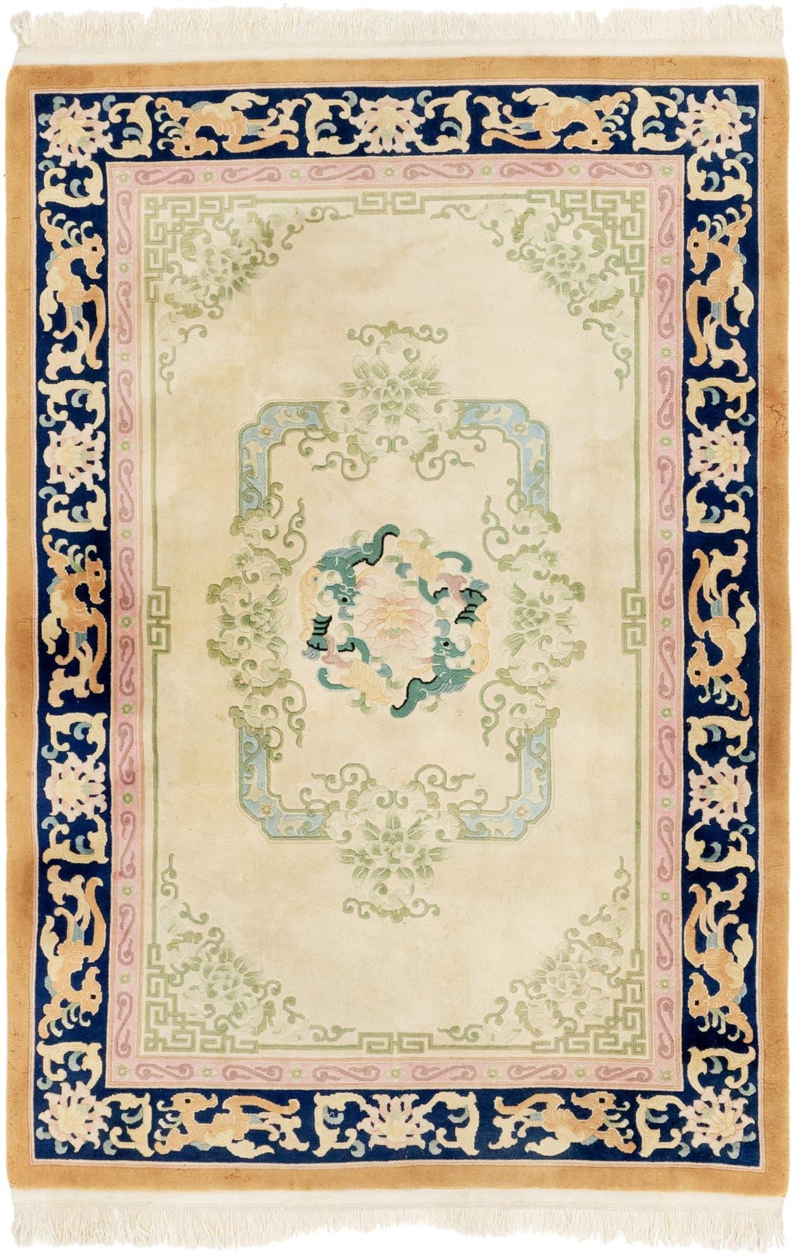 6' x 9' Antique Finish Rug main image