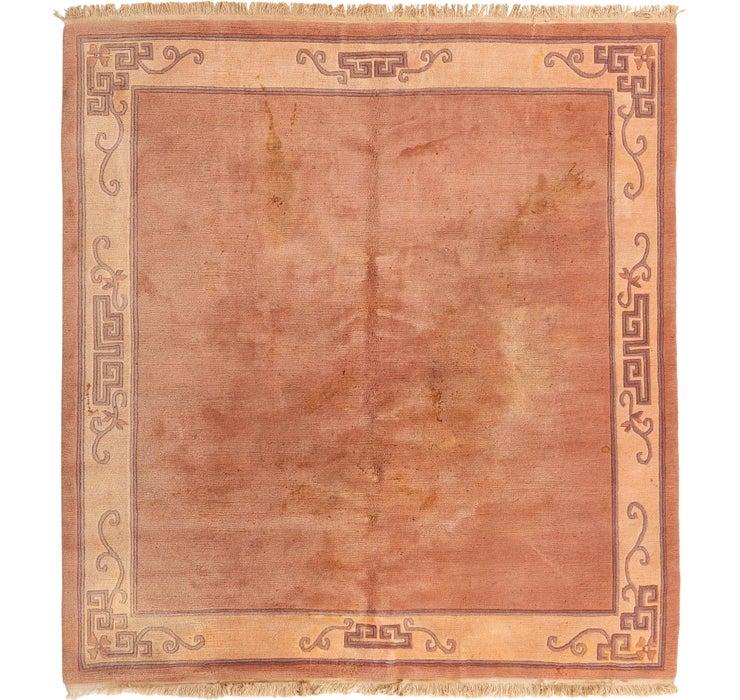 7' 9 x 8' 5 Nepal Square Rug