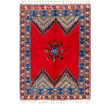Image of 5' 6 x 7' 10 Moroccan Rug