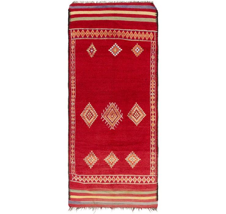 5' 9 x 13' 9 Moroccan Runner Rug