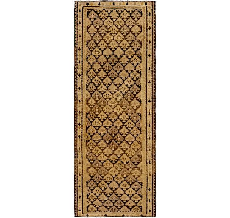 3' 5 x 9' 9 Kilim Fars Runner Rug