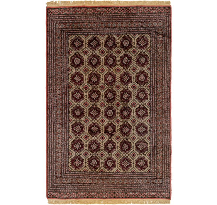 190cm x 282cm Bokhara Oriental Rug