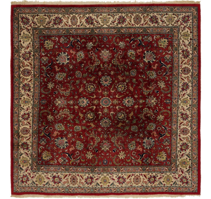 9' 5 x 9' 7 Tabriz Square Rug