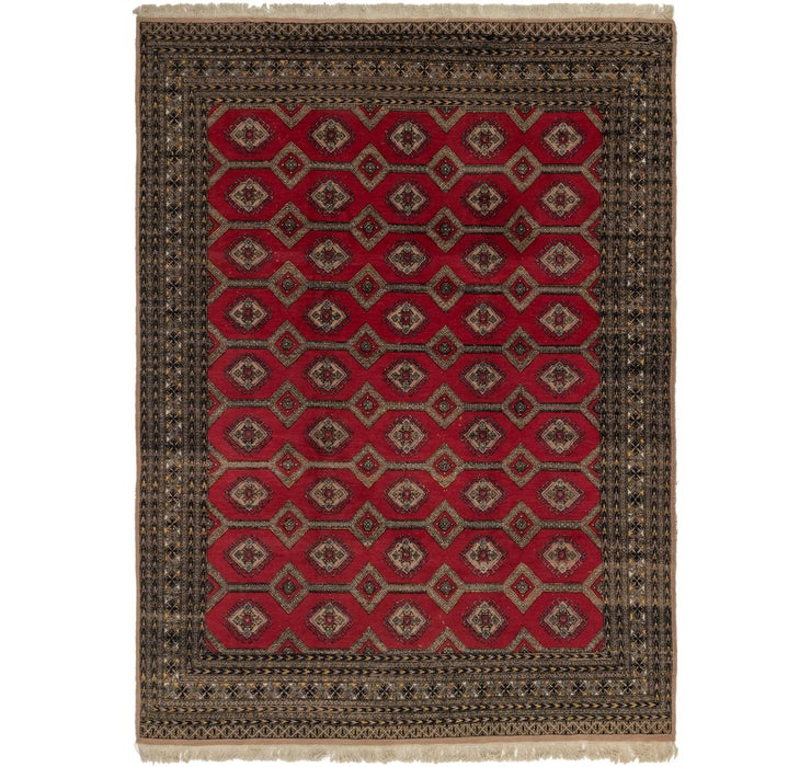 8' 2 x 11' 2 Bokhara Oriental Rug