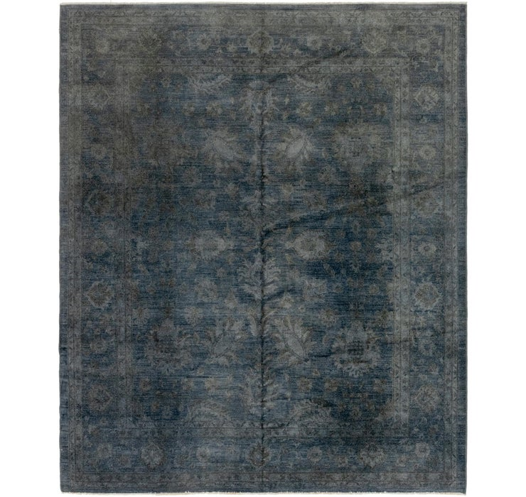 8' x 9' 7 Over-Dyed Ziegler Rug