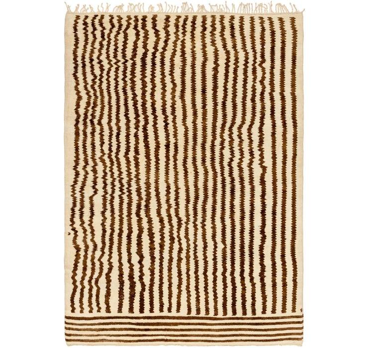 9' 10 x 13' 8 Moroccan Rug