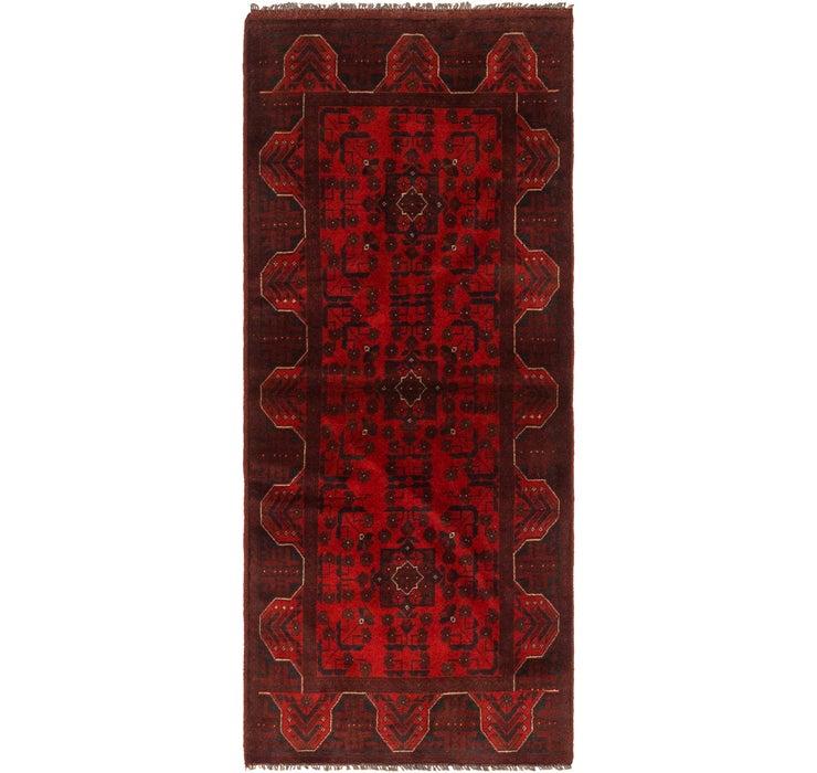 2' 9 x 6' 7 Khal Mohammadi Runner Rug