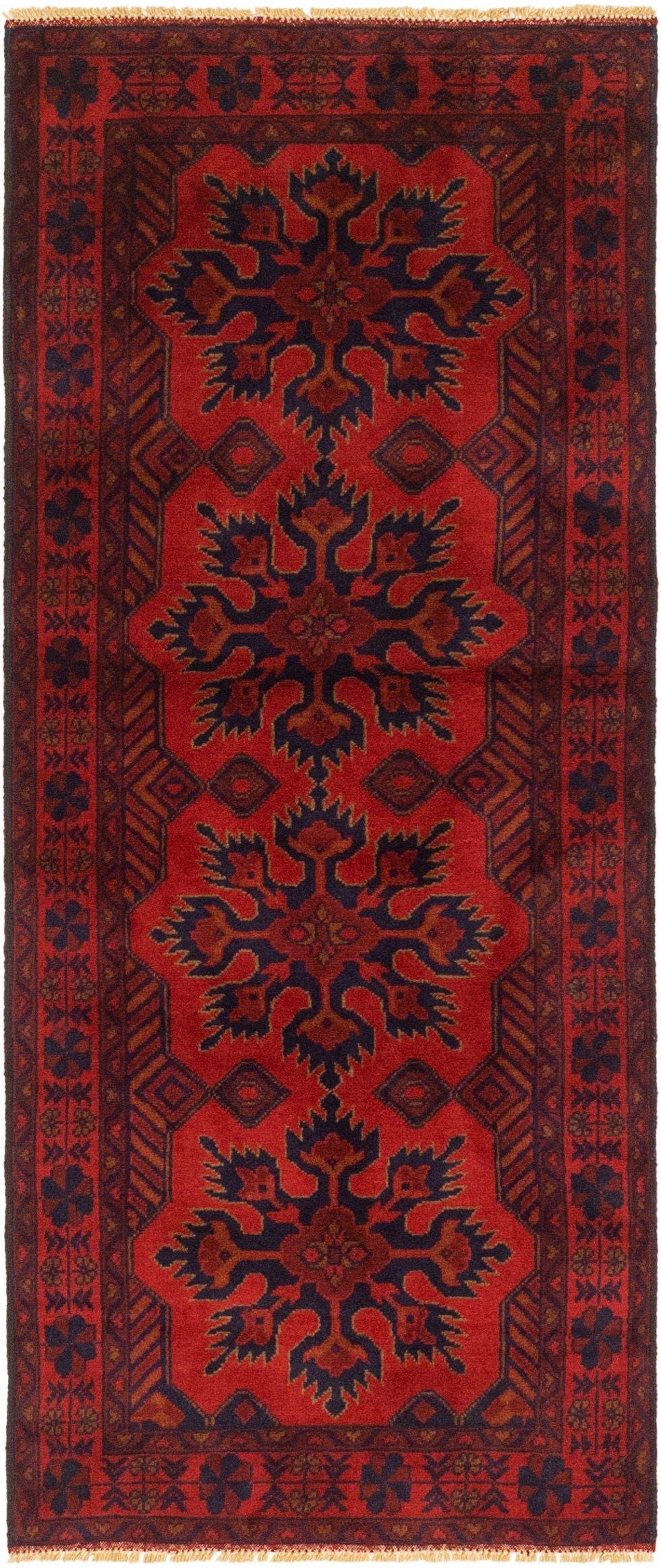 2' 8 x 6' 9 Khal Mohammadii Runner Rug main image