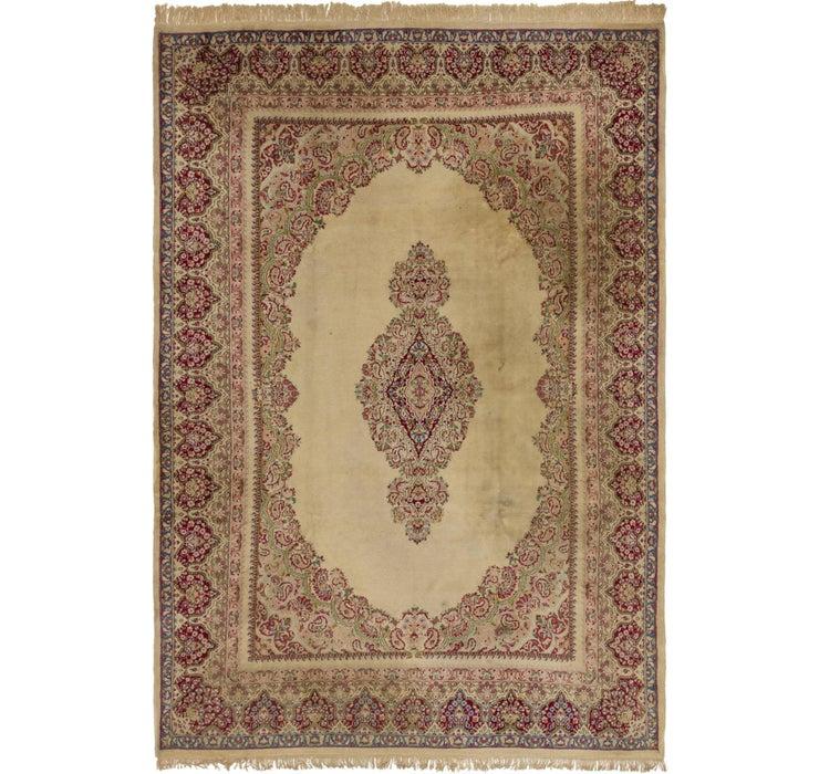 8' x 11' 10 Kerman Persian Rug