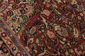 8' 7 x 12' Sarough Persian Rug thumbnail