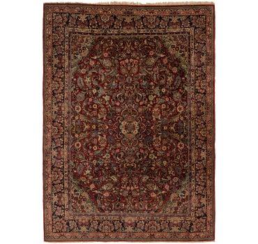 8' 7 x 12' Sarough Persian Rug main image