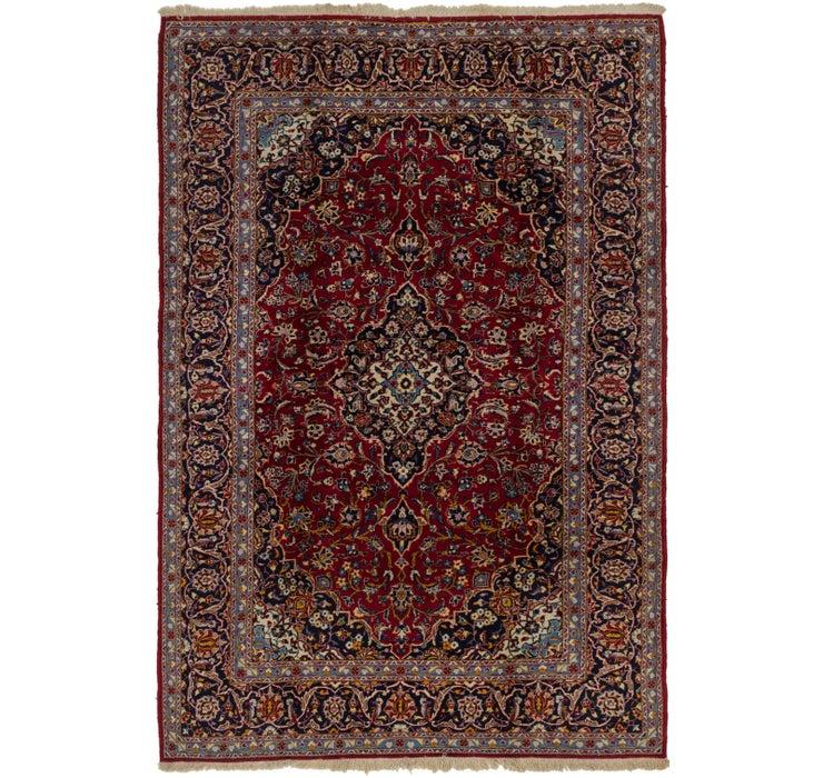 203cm x 315cm Kashan Persian Rug