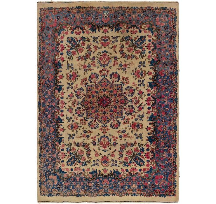 267cm x 360cm Kerman Persian Rug