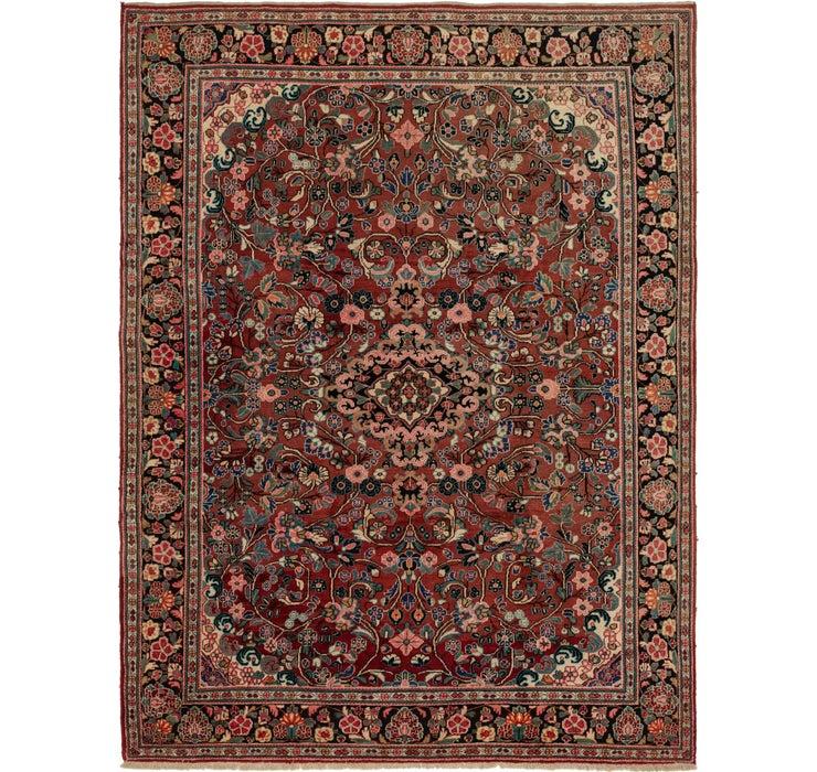270cm x 360cm Meshkabad Persian Rug