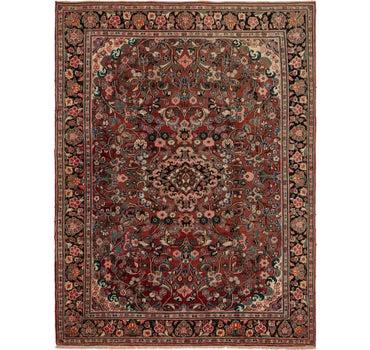 8' 10 x 11' 10 Meshkabad Persian Rug main image