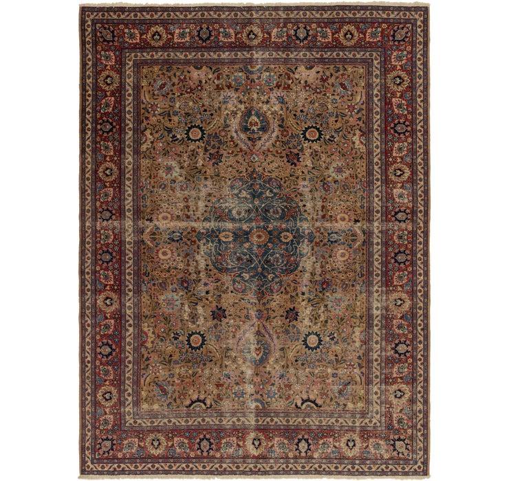 285cm x 390cm Yazd Persian Rug