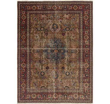 Image of 9' 4 x 12' 10 Yazd Persian Rug