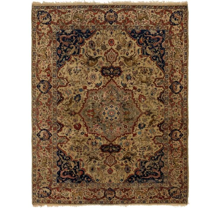 Image of 9' 2 x 11' 8 Kashmar Persian Rug