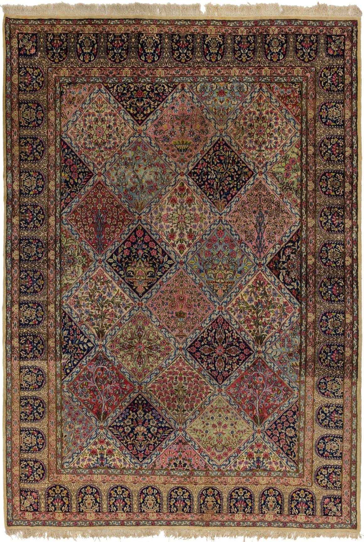 8' 10 x 12' 6 Kerman Persian Rug main image