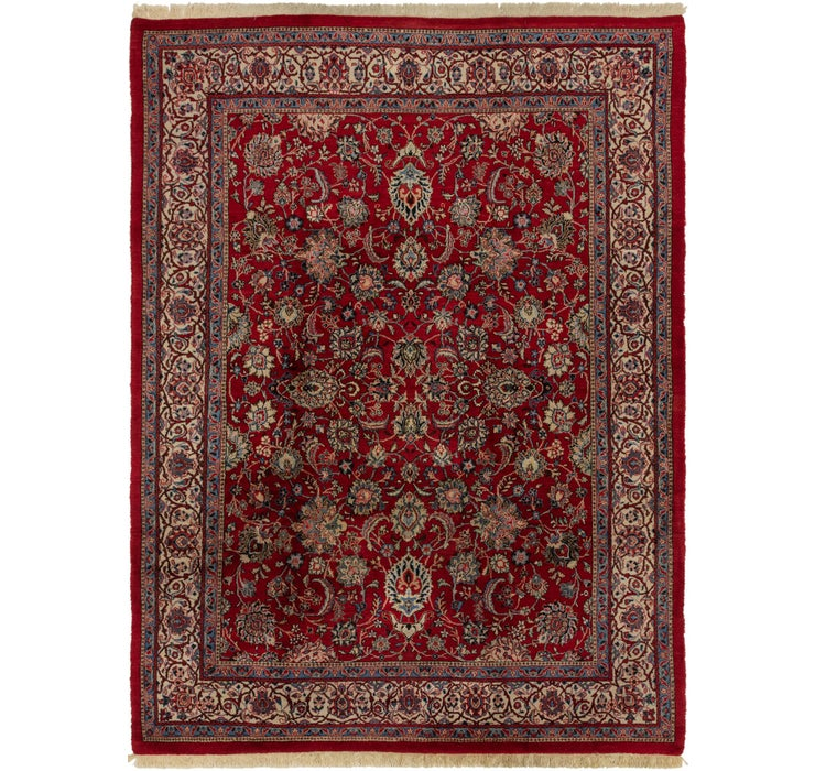 8' 3 x 11' 3 Sarough Persian Rug