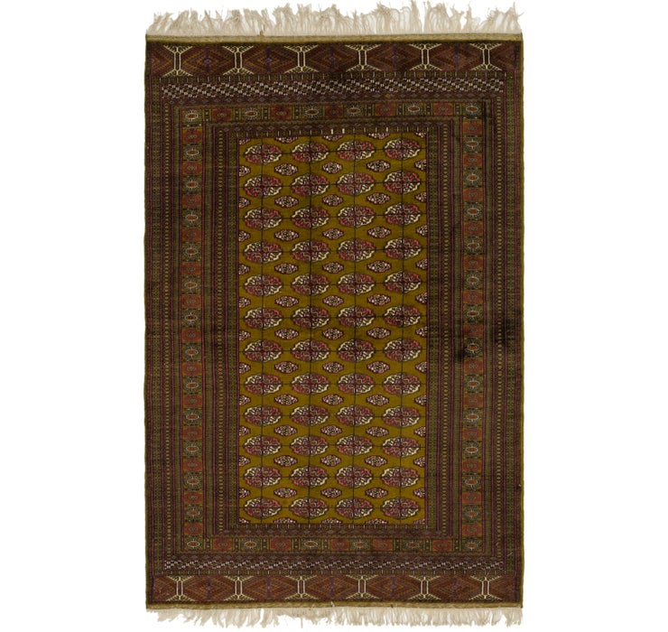 5' 2 x 8' Bokhara Oriental Rug