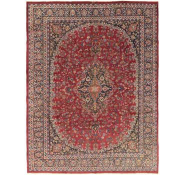 Image of  10' x 13' Mashad Persian Rug