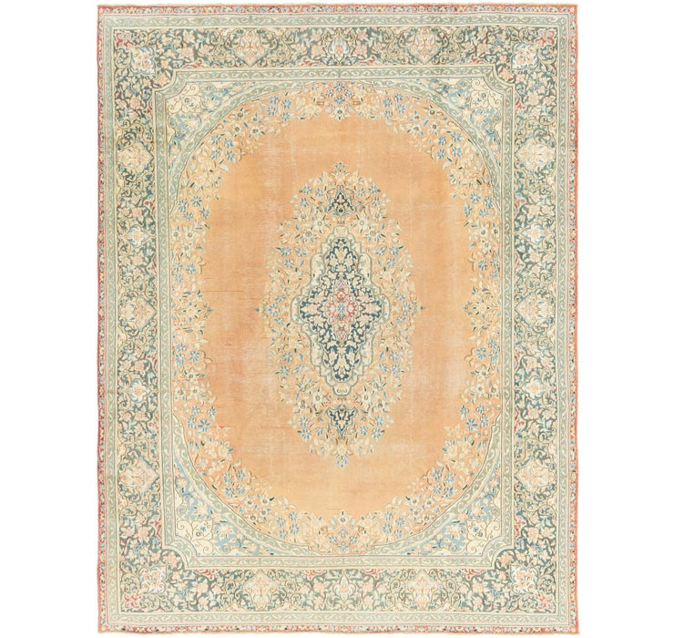 292cm x 380cm Kerman Persian Rug