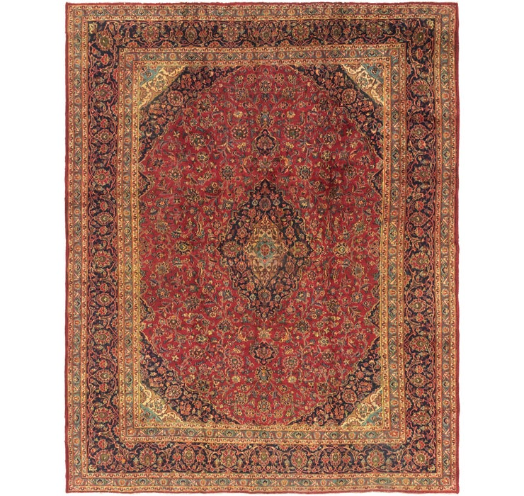 297cm x 373cm Kashan Persian Rug