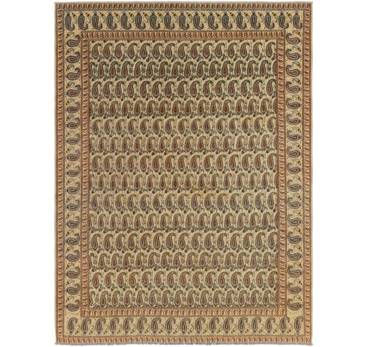 Image of 8' 10 x 11' 7 Kashan Persian Rug