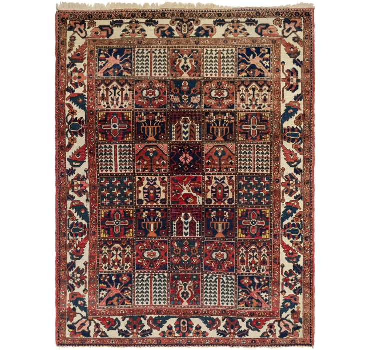 7' 4 x 9' 10 Bakhtiar Persian Rug