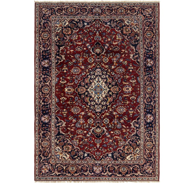 213cm x 300cm Mashad Persian Rug