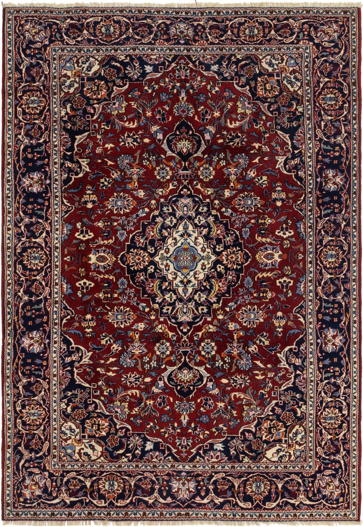 7' x 9' 10 Mashad Persian Rug main image