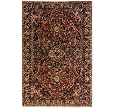 7' x 10' 6 Bakhtiar Persian Rug