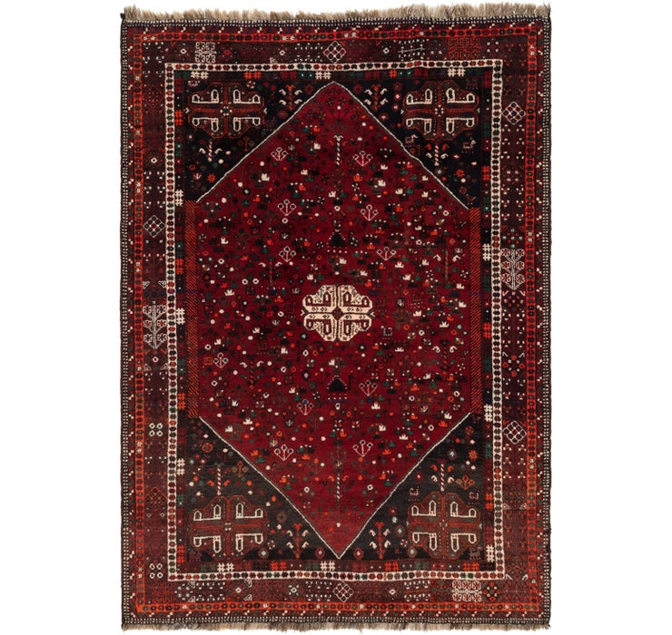 220cm x 318cm Ghashghaei Persian Rug