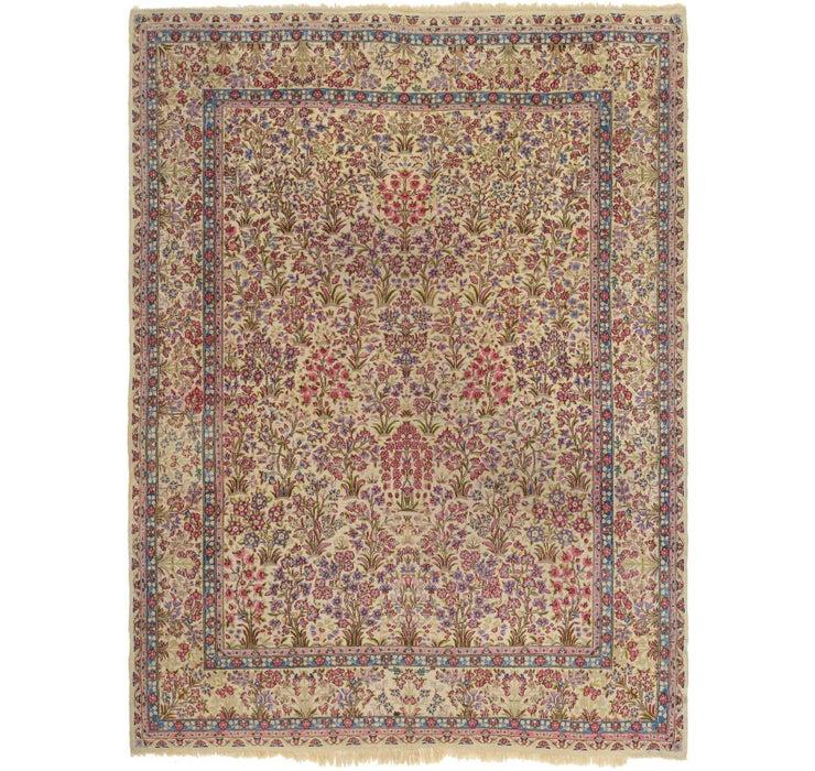 9' x 12' 3 Kerman Persian Rug