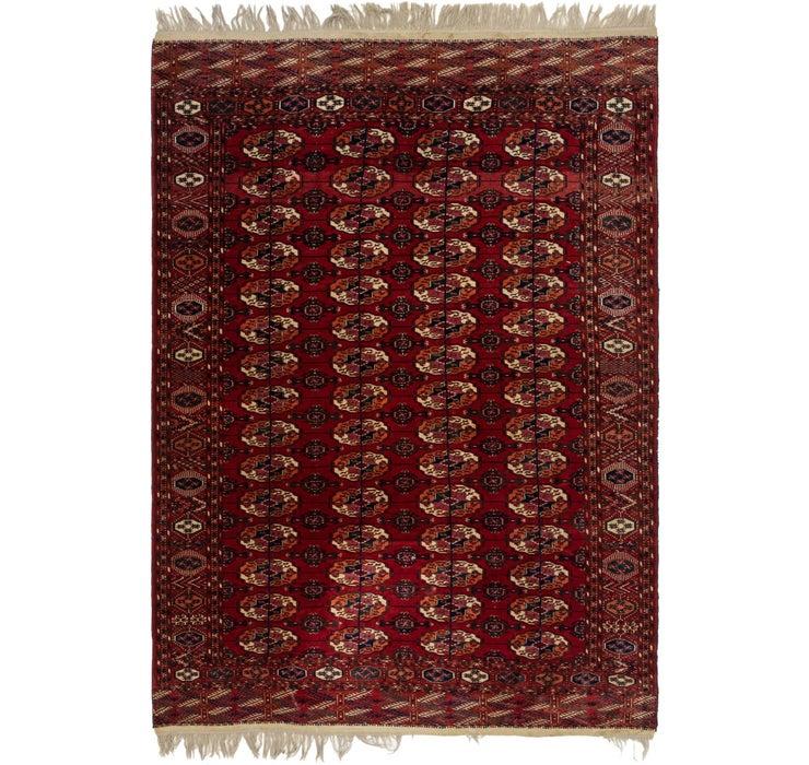 6' 10 x 9' 10 Torkaman Oriental Rug