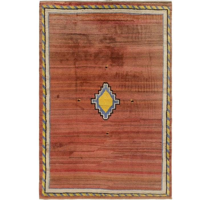 213cm x 325cm Shiraz-Gabbeh Persian Rug