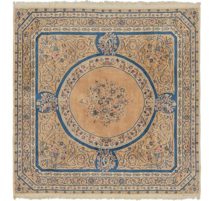10' x 10' Kerman Persian Square Rug