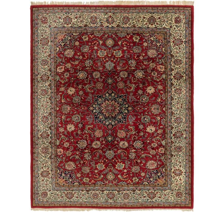270cm x 355cm Sarough Persian Rug