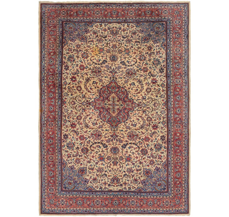 245cm x 355cm Sarough Persian Rug
