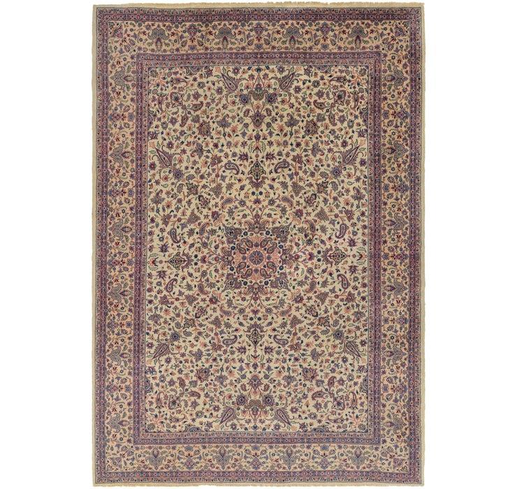 8' 2 x 11' 9 Kerman Persian Rug